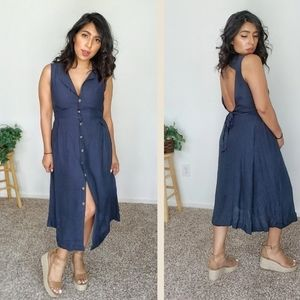 Dresses & Skirts - NIGHTINGALE NAVY BLUE CUTOUT DRESS